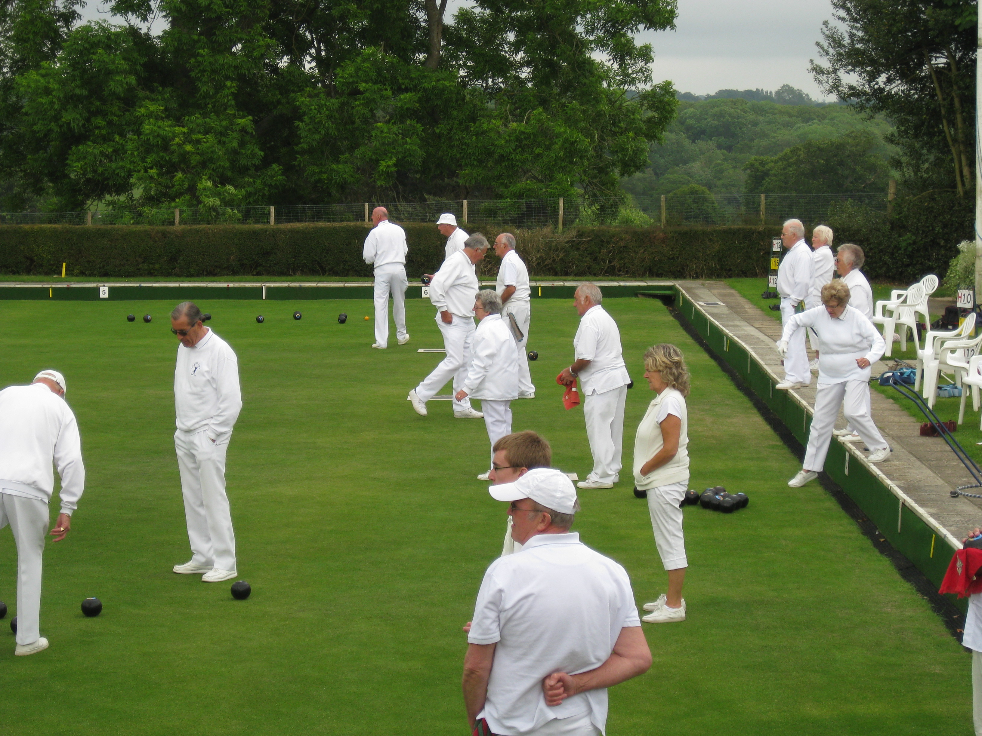 Bowls Game being played