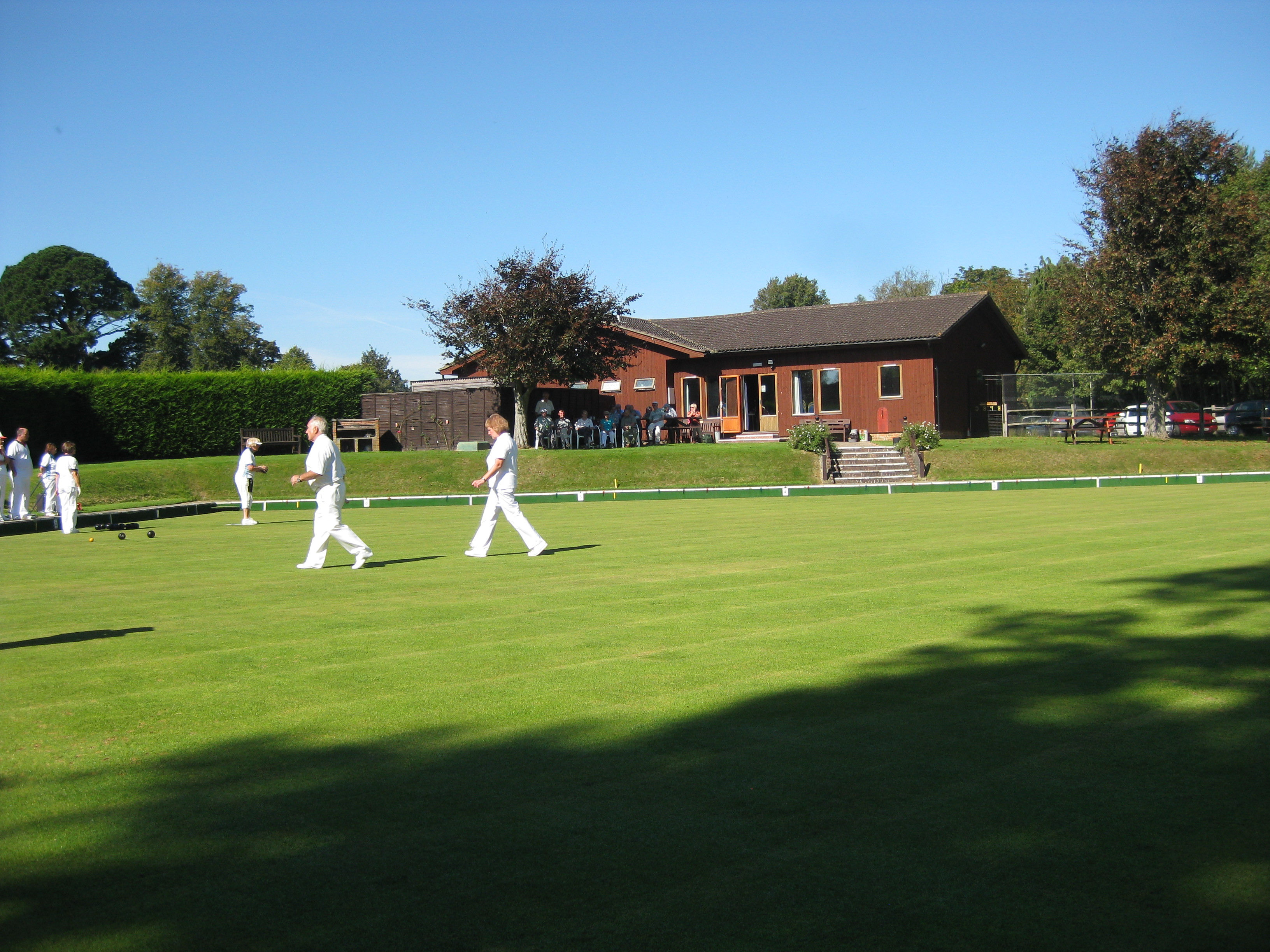 Bowls Game being played at BuxtedPark