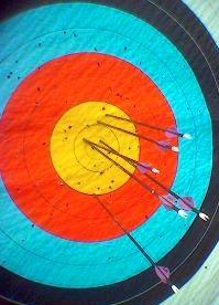 Arrow target.