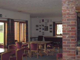 Interior of Buxted Park Clubhouse
